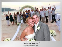 Phuket Wedding Photo 0007 220x165 On the beach wedding at Kata Thani Beach Resort Phuket
