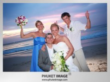 Phuket Wedding Photo 0016 220x165 On the beach wedding at Kata Thani Beach Resort Phuket