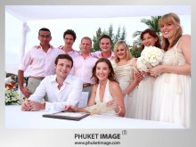 beach wedding in phuket 0019 220x165 Destination Phuket wedding on the beach : Kata Thani