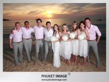 beach wedding in phuket 0023 220x165 Destination Phuket wedding on the beach : Kata Thani