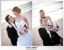 Phuket wedding photographer   on the beach 0020 220x171 Bianca & Frank : Phuket beach wedding photography