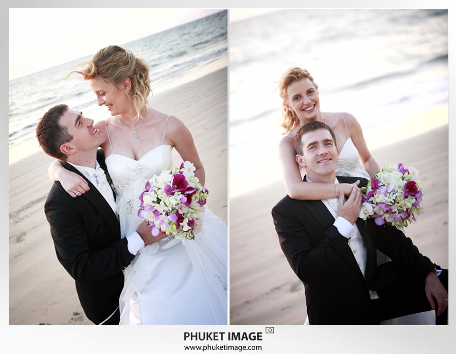 Phuket wedding photographer   on the beach 0020 Bianca & Frank : Phuket beach wedding photography