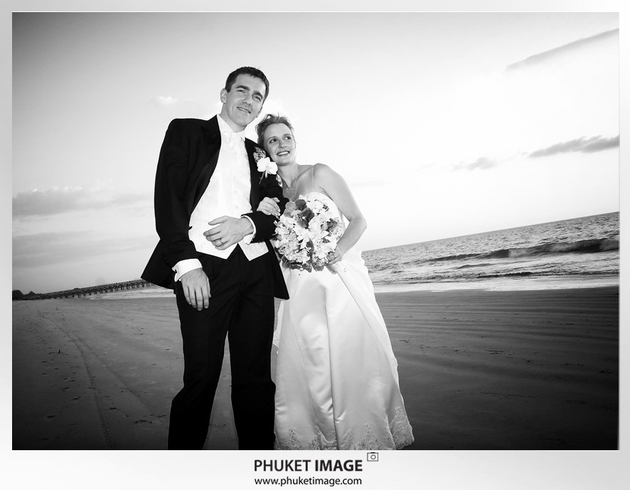 Phuket wedding photographer   on the beach 0022 Bianca & Frank : Phuket beach wedding photography