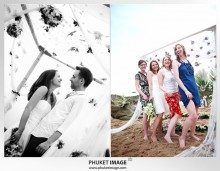 Lanta wedding photo   beach wedding 0028 220x171 Beach wedding in koh Lanta : Moonlight Resort