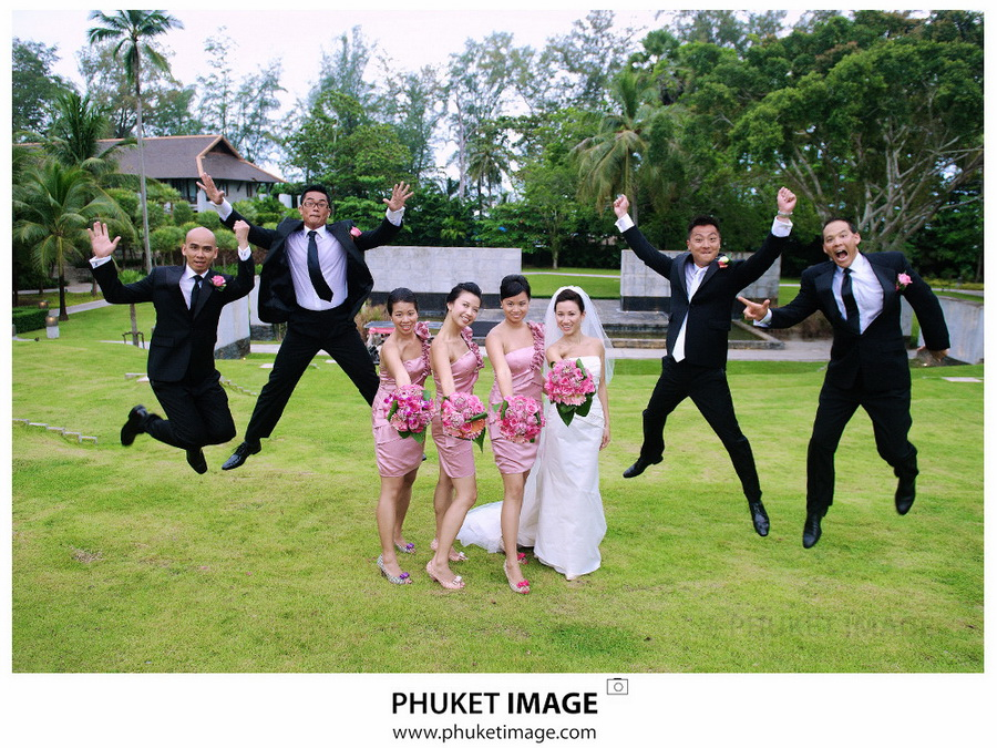 Professional wedding photography service in Thailand
