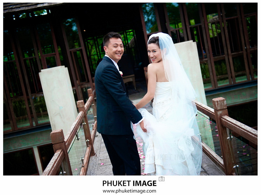 Professional wedding photography service in Phuket