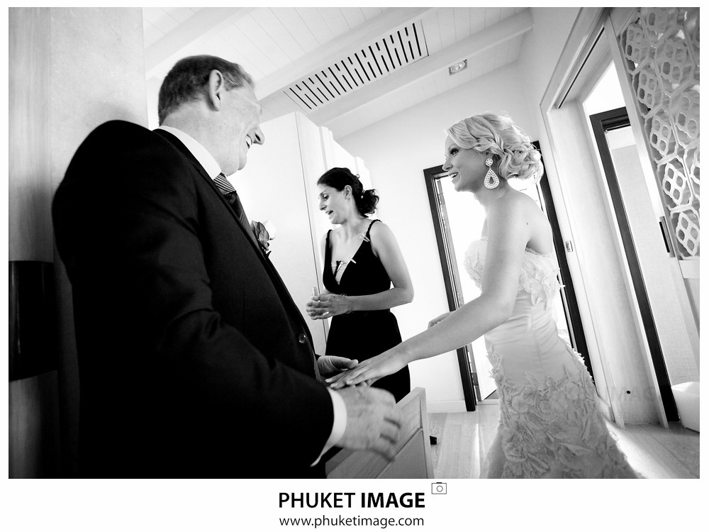 0016 Phuket Photographer Paraire  and Melissa : Wedding day at Katathani