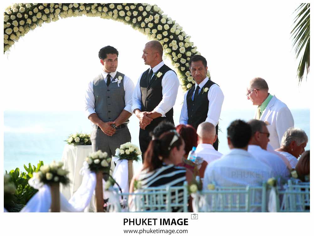 0017 Phuket Photographer Paraire  and Melissa : Wedding day at Katathani