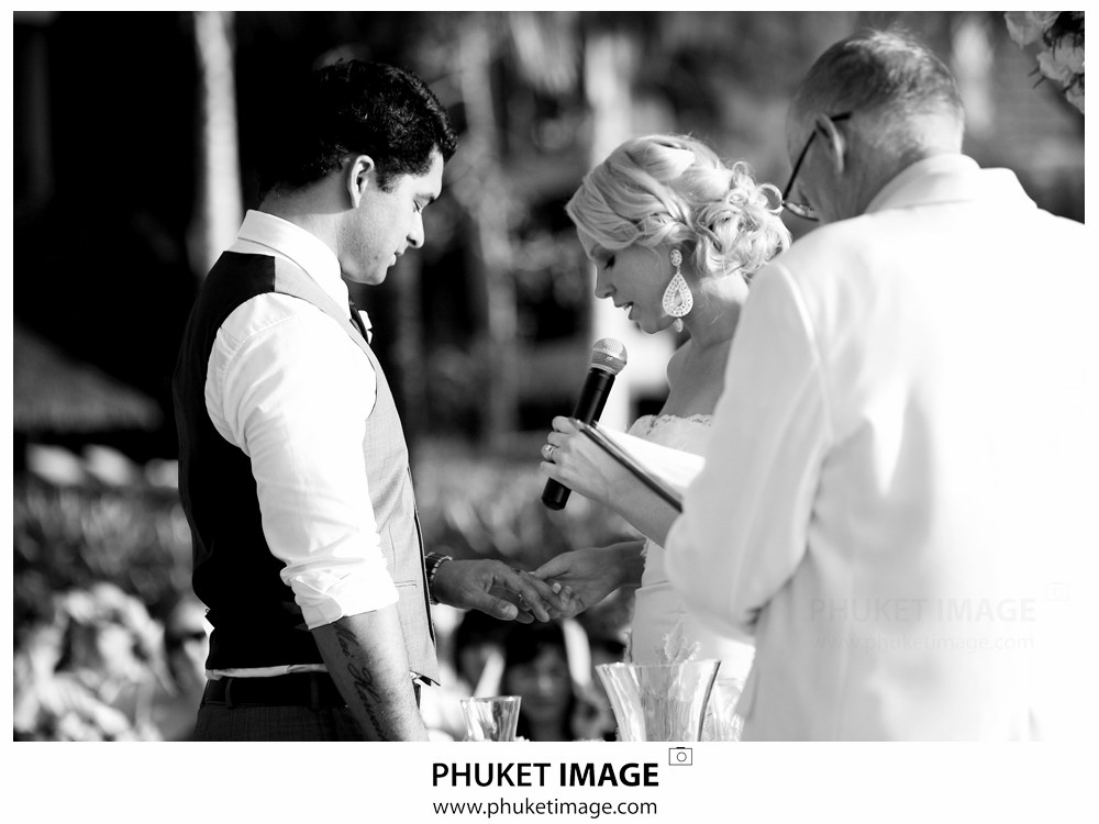 0027 Phuket Thailand Wedding Photographer Paraire  and Melissa : Wedding day at Katathani