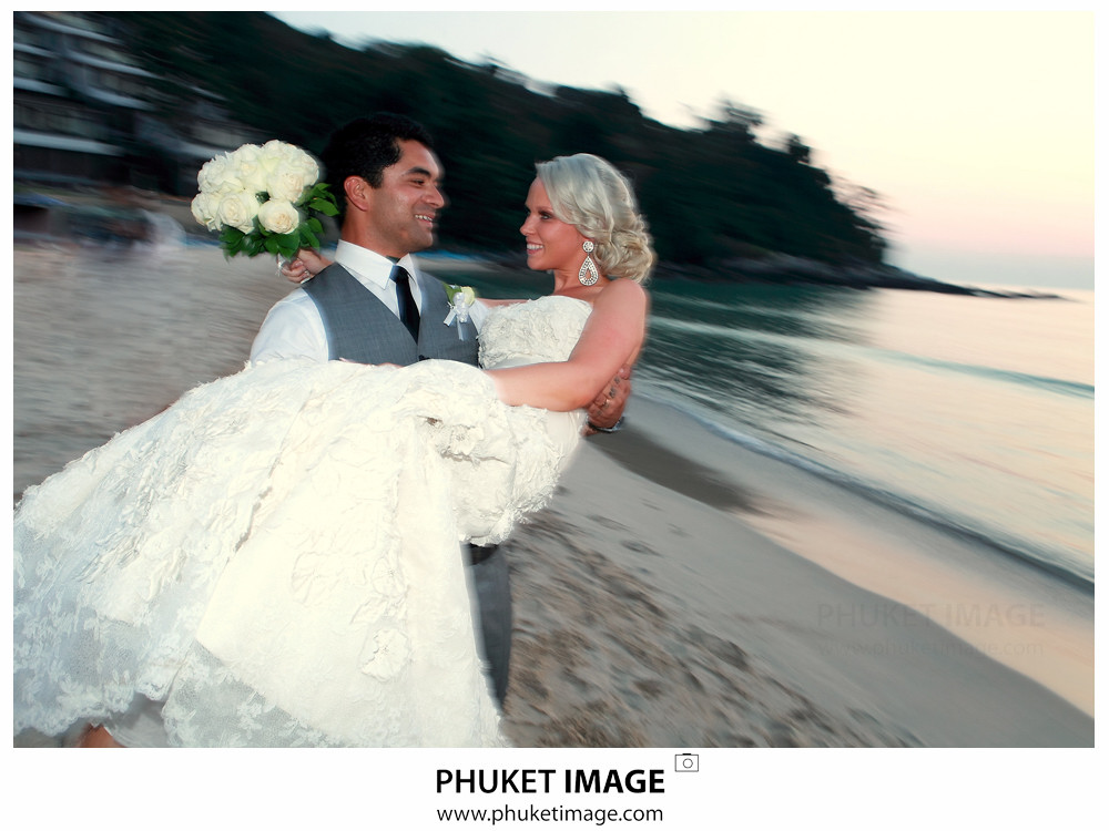 0038 Wedding Photographer in Phuket Paraire  and Melissa : Wedding day at Katathani