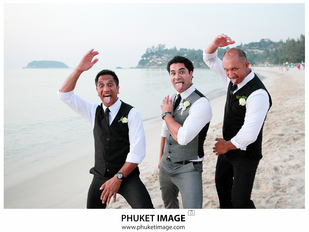 0039 Wedding Photographer in Phuket Paraire  and Melissa : Wedding day at Katathani