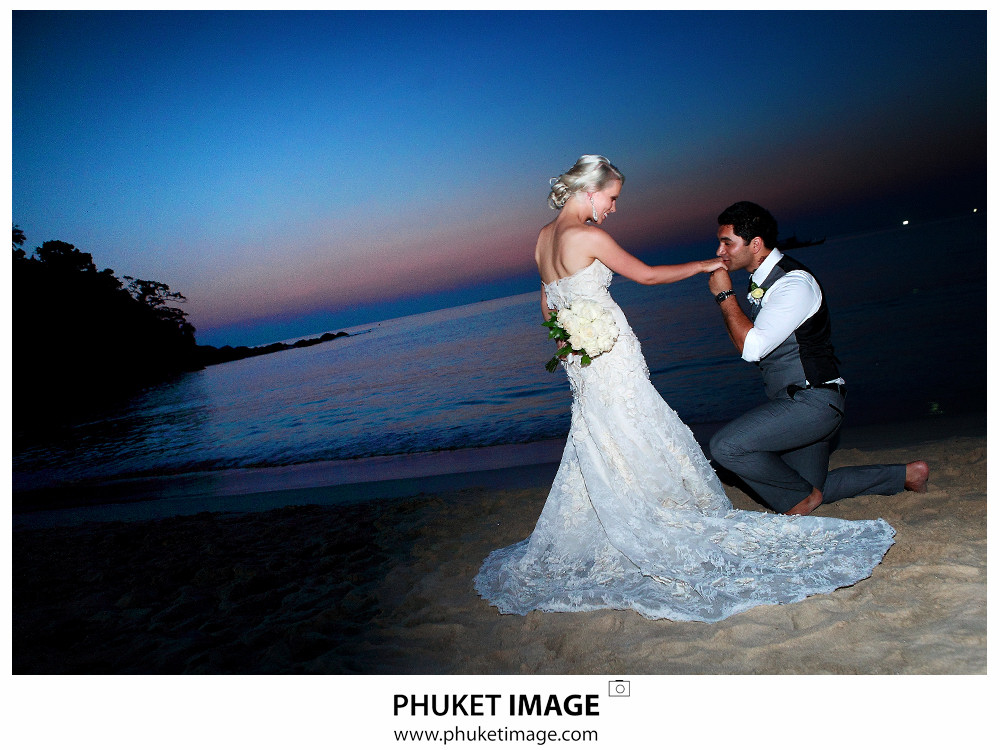 0045 Beach Wedding Photographer in Phuket Paraire  and Melissa : Wedding day at Katathani