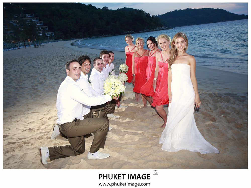 036 Wedding Phuket Photographer Patrice and Steven Wedding at Katathani Beach Resort Phuket