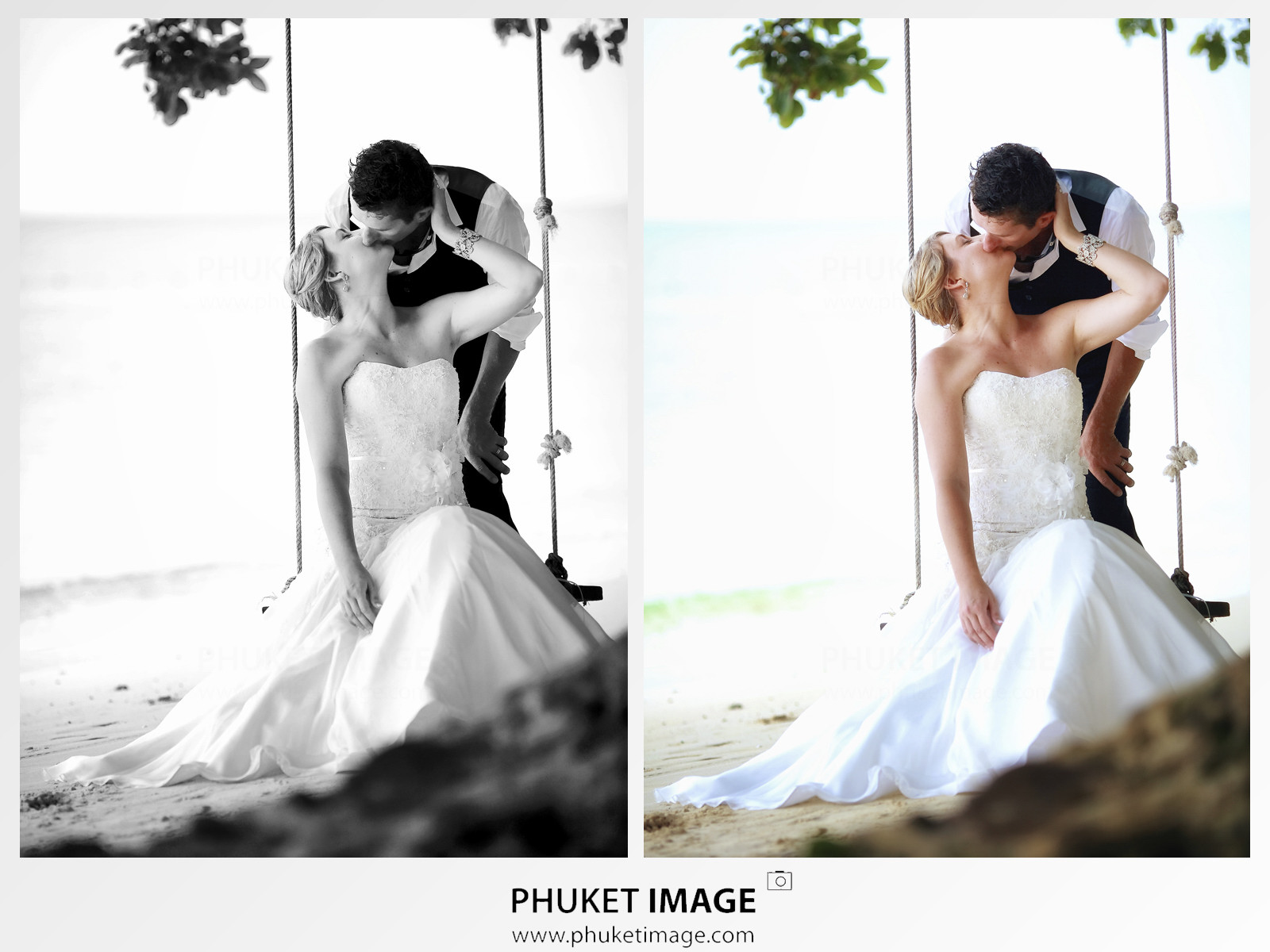 Wedding cinematographer and wedding photographer in Phuket