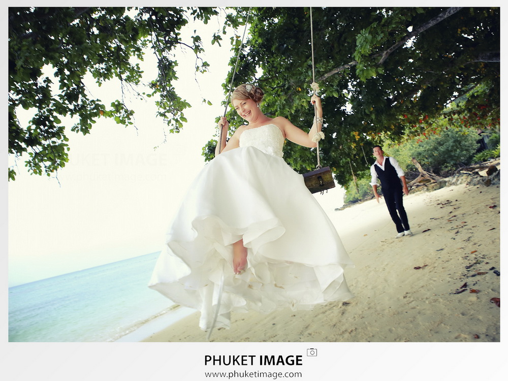 Destination beach wedding photographer Phuket