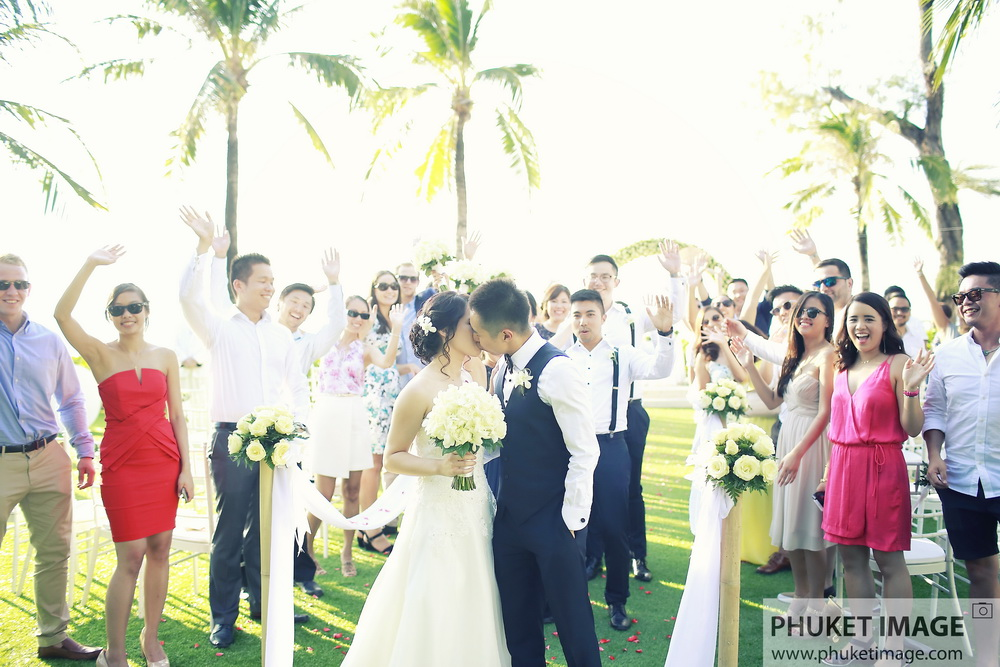 Beach wedding and engagement photo shoot in Phuket