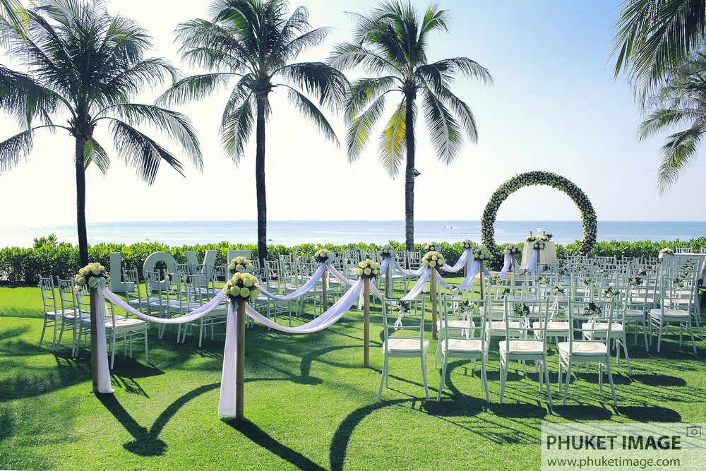 Beach honeymoon and wedding photography at Sala Phuket, Katathani Phuket Beach Resort.